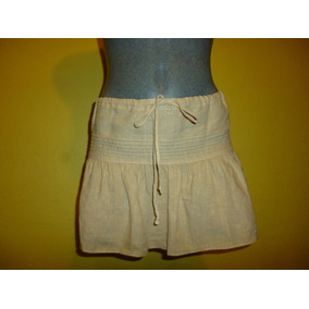 Minifalda Pareo Juicy Couture Color Arena Talla Chica