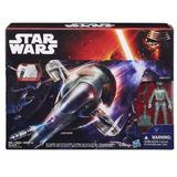 Star Wars Force Awakens Boba Fett & Slave1 Star Ship Action