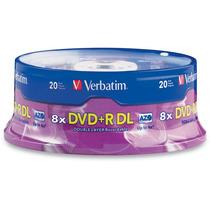 Torre 20 Discos Virgenes Verbatim Dvd Dvd+r Doble Layer C