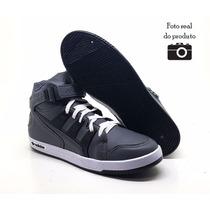 Tênis Adidas Basquete Cano Alto Sk8 Esqueitista Frete Gratis