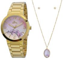 Relógio Allora Aquarela Dourado - Al2035fbk/k4t