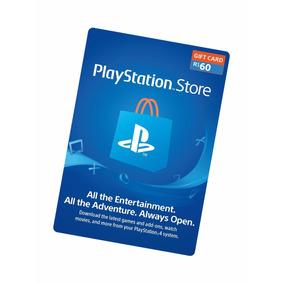 Cartão Psn Playstation Store Brasil 60 Reais Psn Imediato