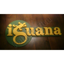 Cartel Cerveza Iguana Corporeo Polyfan