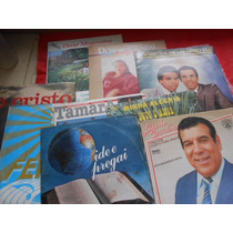 Vinil Música Evangélica Lote Com 09 Lp