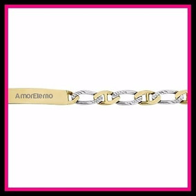 Esclava Gucci Cartier Amoreterno Oro Blanco Y Amarillo 10k