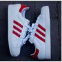 Remate Tenis Adidas Superstar Bco/rojo Caballero