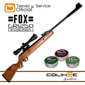 Rifle Fox Gr 1250 Nitro Pistón + 750 Balines