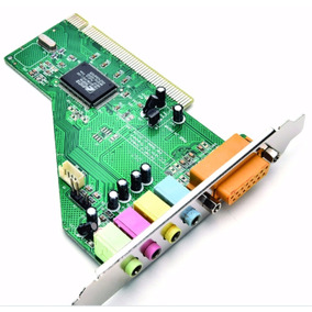 Placa De Som Pci 5.1 Canais Crystal Cs4280/4881 Win7 32bts