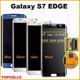 Tela Display Samsung S7 Edge C Aro! Fazemos Instalaçao