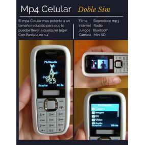 Celular Dual Sim Libre Mp4 Mp3 Camara Bluetooth Nuevo