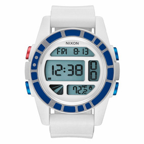 Reloj Nixon Star Wars Unit A197sw2379 R2-d2 White 100m Wr