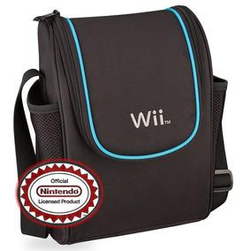Estuche Mochila De Viaje Nintendo Wii Deluxe Game Traveler