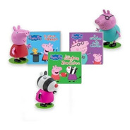 Clarín Colección Peppa Pig Set 3 De 12 Muñecos Oficiales