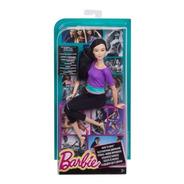 Barbie To Move Top Roxo Cabelo Preto, Oriental -melhor Preço
