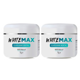 Clareador Dental Whitemax 2 Potes 100% Natural White Max