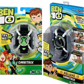 Kit 2 Relógio Omnitrix De Luxo E Básico Do Ben 10 Original