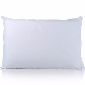 2 Travesseiro 70x50 Fibra Siliconada - Algodão Antialérgico