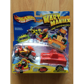 Hot Wheels Kart Maniax Motorizado Corkscrew Giros .
