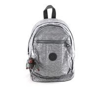 Mochila Backpack Kipling Gris Antimonio Metálica Con Envio