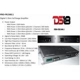Amplificador Ds18 Pro Modelo Profr1500.1 De 1500 Watts Rms