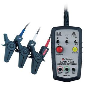 Fasímetro Cat Iv 600v S Contato Metálico - Mfa-845 - Minipa