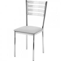 Cadeira Em Aço Inox - Gold