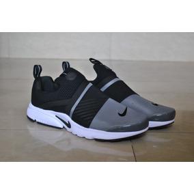Kp3 Zapatos Nike Air Presto Extreme Gris / Negro Caballeros