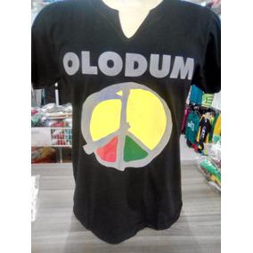 Camiseta Olodum Original Bahia Carnaval 2018