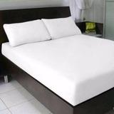 Lençol Branco Queen C/elástico,hotéis,promoção
