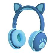 Audífonos Oreja De Gato Auriculares Bluetooth Recargables