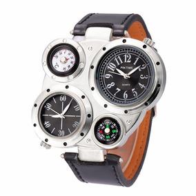 Reloj Pintime Luxury Militar Con Termometro Y Brujula