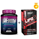Lipo 6 Black Uc Nutrex 60cps+whey Protein Xcore Ss 900g Choc