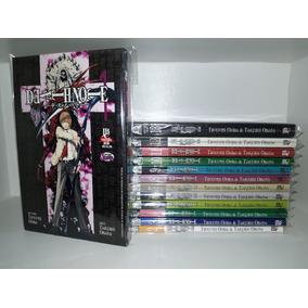 Mangá Death Note Volume 1 Ao 13 Coleção Completa Jbc