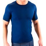 Camiseta Hombre Elgi Manga Corta En Microfibra