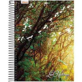 Caderno Universitario Link Natureza 20mat.400folhas (200x275