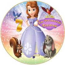 La Princesa Sofia Cumpleaños Temático Cotillón Imprimible