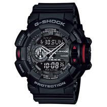 Relógio Casio G-shock Ga-400 1b H.mundial 5 Alarmes 200m Nfe
