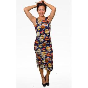 Vestido Dama Channel Abertura Flor - Holly Fashion Crystal