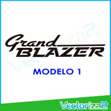 Calcomania Chevrolet Grand Blazer 4x4 Sitio Fisico