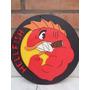 Escudo Hellfish The Simpsons Logo De Madera Con Relieve