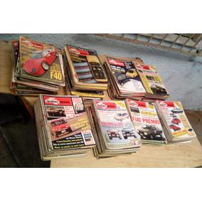 Coleção Revista Quatro Rodas Anos 80 90 00 (incompleta)