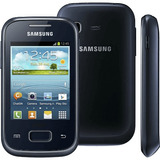 Smartphone Samsung Galaxy Pocket Plus Preto Android 4.0 3g