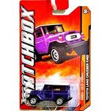 Juguete Matchbox 2012 Toyota Land Cruiser Fj40 Purple #68/1