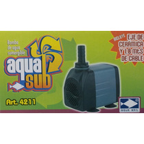 Bomba De Agua Aquakril 4211 1.6mts Acuario Fuentes Pecera