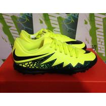 Tenis De Futbol Nike Hypervenom Phade Tf Neymar De *niño*
