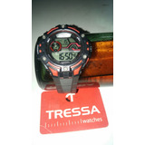 Reloj Tressa Water Resist 100 Mt Chrono Exel Estado Inmacula