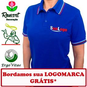 13 Camisa Polo Uniforme Logomarca Empresas -bordado Grátis b48bcccd6b8aa