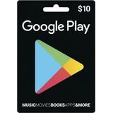 Tarjeta Google Play Store Card 10 Usd Oferta + Envio Digital
