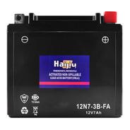 Batería Moto Haijiu 12n7-3b-fa Agm  Gel Libre Mantenimiento