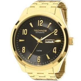 Relógio Technos Masculino Automático Dourado - 8205ni/4p